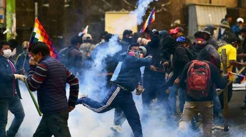 """""""This is What a Dictatorship Looks Like"""": Bolivian Security Forces Open Fire on Indigenous Protesters in Cochabamba"""