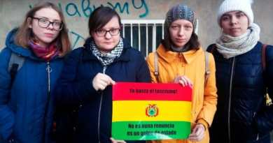 Donetsk Women: 'The Whole World is With Bolivia'