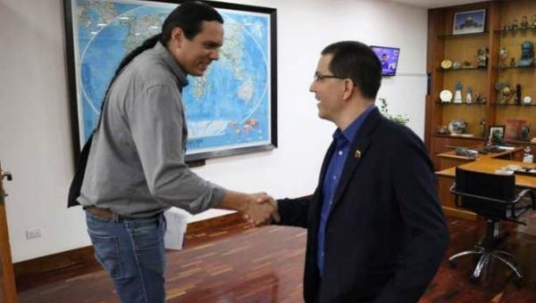 Venezuela Boosts Ties of Brotherhood With US Indigenous People