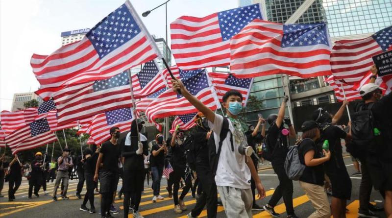 China: US NGOs Encourage Violent Riots in Hong Kong