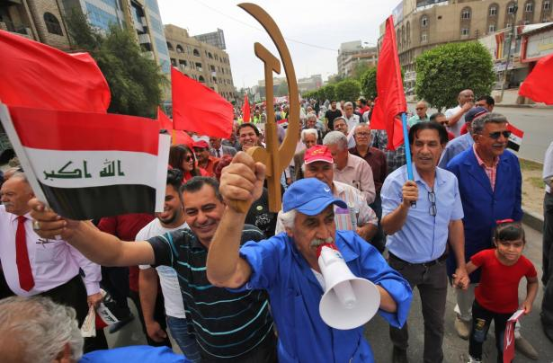 Iraq's Communists Given New Life by Protests