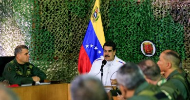 """Maduro Alerts of Possible """"Provocations"""" from Colombia and the US Southern Command on the Border"""
