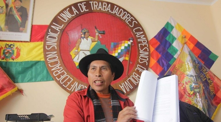 "Bolivia's MAS Leader: ""Our Advantage is Not to be Afraid of Death in Defense of the Country"""
