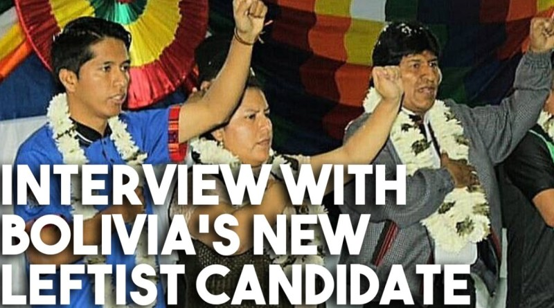Evo Morales' Potential Successor Speaks Out After Far-Right Bolivia Coup: Interview With Union Leader Andrónico Rodríguez