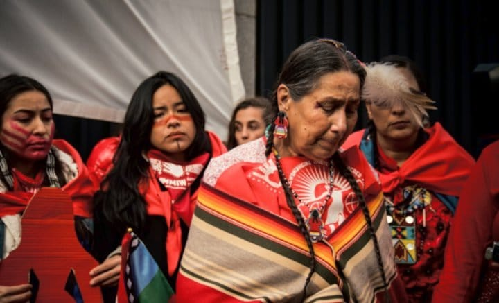Indigenous COP25 Delegation Removed from US Embassy in Spain