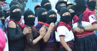 Mexico: Women From All Over the World Will Raise Their Voices Against Gender Violence