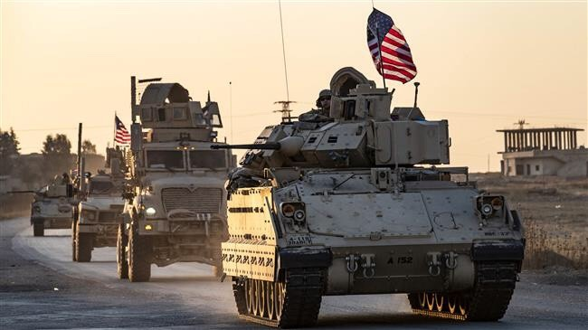 US Military Convoy Enters Oil Fields in Northeast Syria