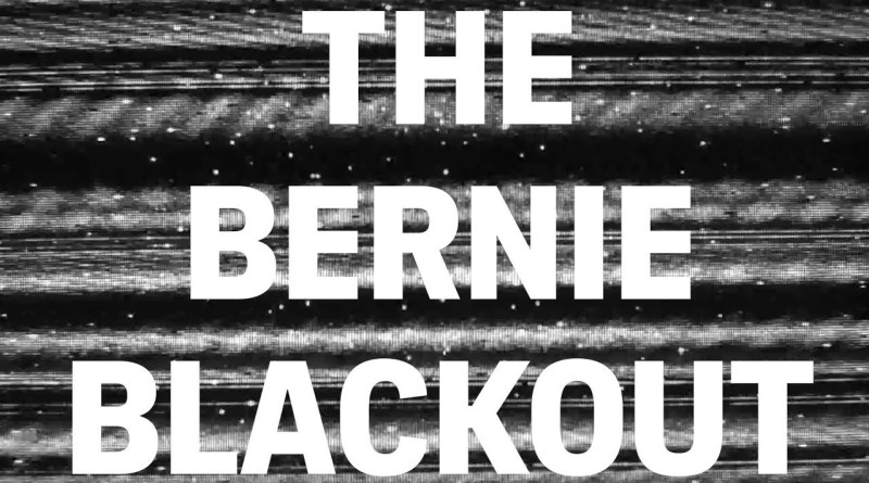 """The """"Bernie Blackout"""" is in Effect - and it Could Help Sanders Win"""