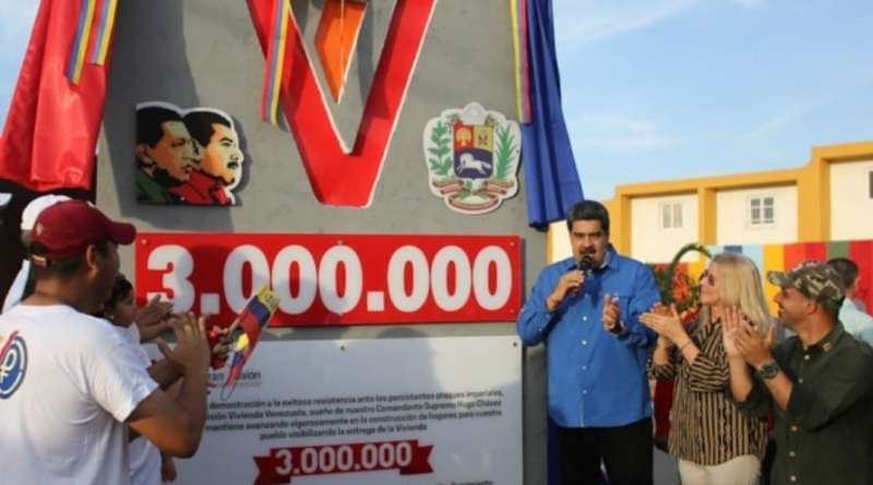 President Maduro Delivered the 3 Millionth House (as Promised)