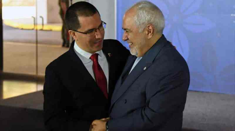 Chancellor Jorge Arreaza in Iran to Develop High-Level Work Agenda