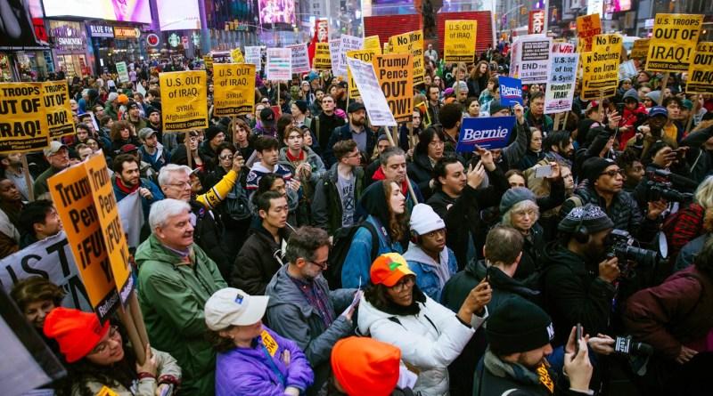 Trump's Iran Aggression Sparks Protests Across America, World