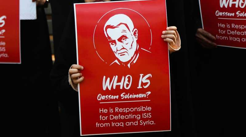 Study Finds Bots and MAGA Supporters Pushing #IraniansDetestSoleimani Hashtag