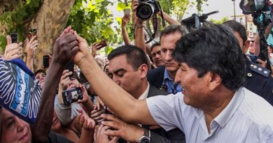 """Evo Morales: """"We Will Soon Recover Democracy"""" in Bolivia (+Choquehuampa/Andronico Formula)"""