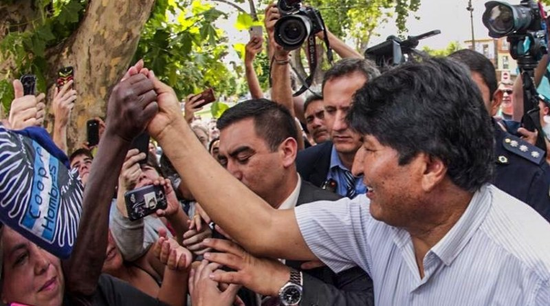 "Evo Morales: ""We Will Soon Recover Democracy"" in Bolivia (+Choquehuampa/Andronico Formula)"