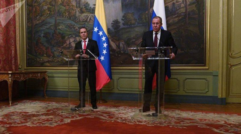 Arreaza and Lavrov Meet Again in Geneva