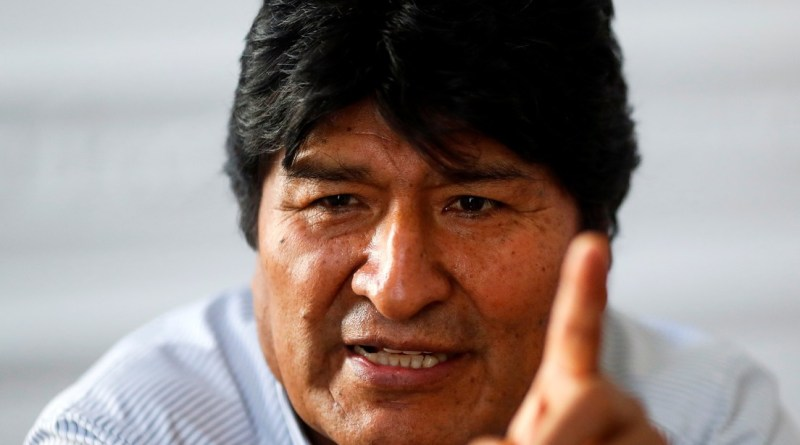 """Evo Morales Denounces the """"Illegal"""" Detention of his Lawyer in Bolivia Preparing his Candidacy for Parliment"""