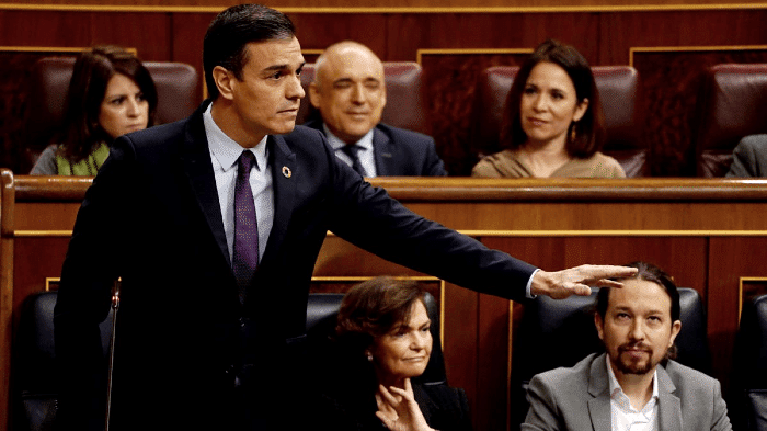 """Spain President Downgrades Guaido to """"Opposition Leader"""""""