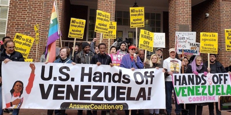 Embassy Activists Face Prison in Trial Based on Trump Venezuela Fantasy (Podcast)