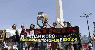 "The Death of Journalist Sebastián Moro: ""He is a Victim of the Coup in Bolivia"""