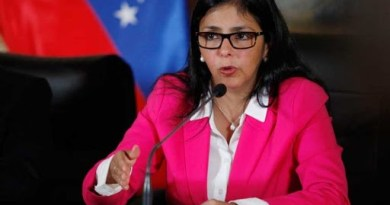 """VP Delcy Rodríguez: United Venezuela Will Face Attacks From """"Cowboys of the North"""""""