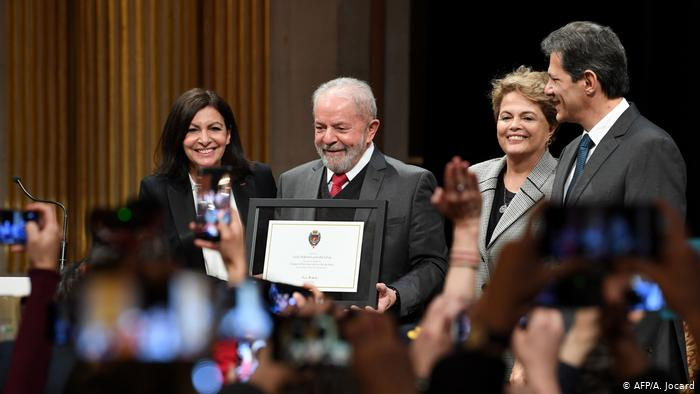 Brazil: Lula Receives Honorary Citizenship in Paris