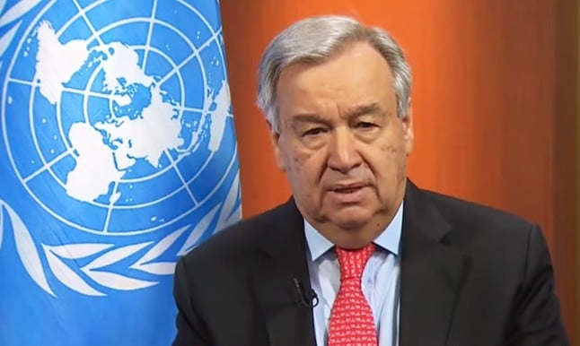 "UN Secretary General Calls for Global Ceasefire to Focus on ""the True Fight of Our Lives"""