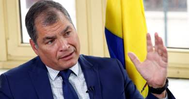 """Ecuador's Rafael Correa Sentenced In Absentia to 8 Years in Prison: """"The Country's Energies are Being Distracted, We Should be Focused on the Coronavirus Crisis"""""""