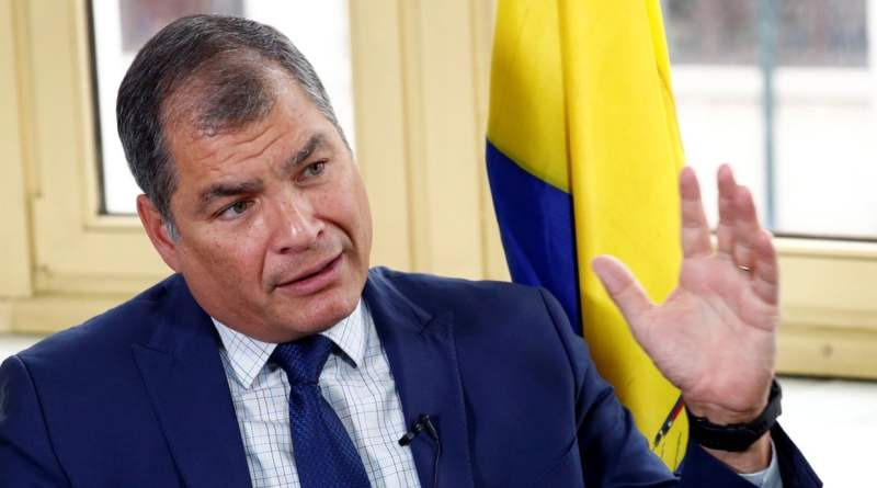 "Ecuador's Rafael Correa Sentenced In Absentia to 8 Years in Prison: ""The Country's Energies are Being Distracted, We Should be Focused on the Coronavirus Crisis"""