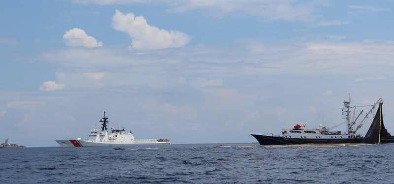 Now the US Navy Intimidates Venezuelan Fishing Vessel in International Waters