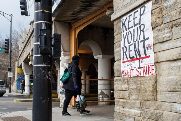 Chicagoans Readying for Rent Strike