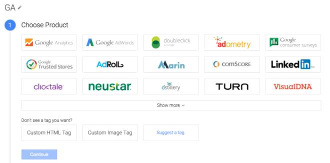 Crear un tag con Google Tag Manager