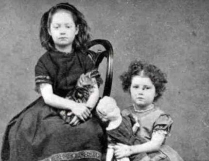 poupées de deuil victoriennes enfants et poupées