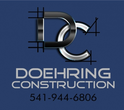 Doehring construction graphic design in southern oregon blueprint style construction logo malvernweather Images