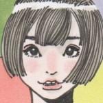 【女の子イラスト】うさ耳ショートヘアの女の子