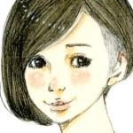 【女の子イラスト】かりあげの女の子