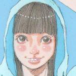 ポテトチップス紅ショウガ天味/「パーカーっぽい服」女の子イラスト