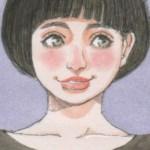 【女の子イラスト】猫耳とバラのTシャツ