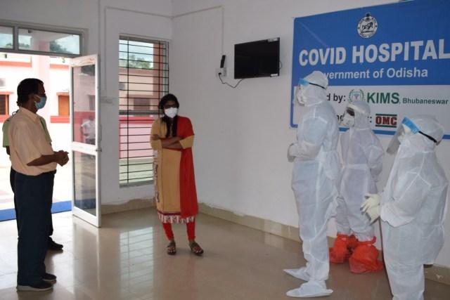 COVID19 positive Odisha
