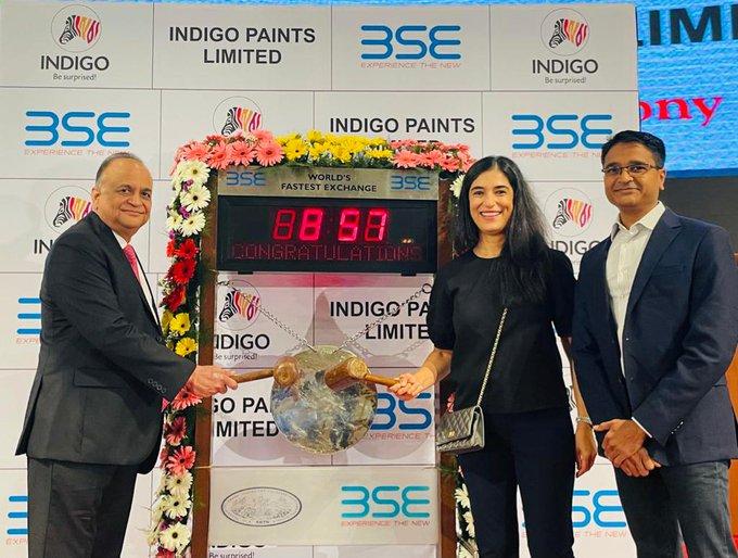 Indigo Paints makes bumper Indian stock market debut, lists at 75% premium