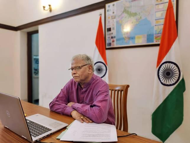 MoS Jal Shakti Shri Rattan Lal Kataria Addresses BRICS International Forum Webinar, Highlights Gravity of Water Crisis Being Faced By The World Today - Odisha Diary