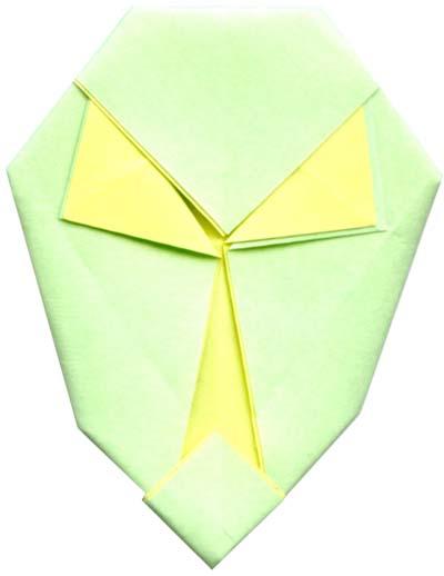 Origami Database - Model - Alien