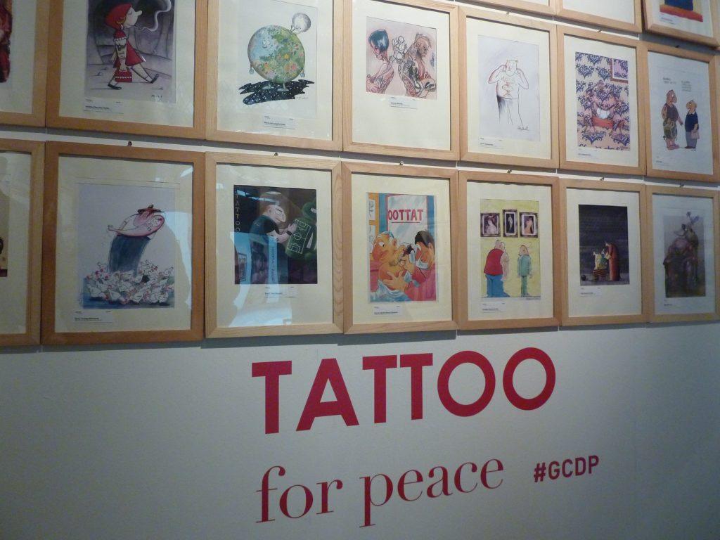Tatuaggio, Tattoo for peace