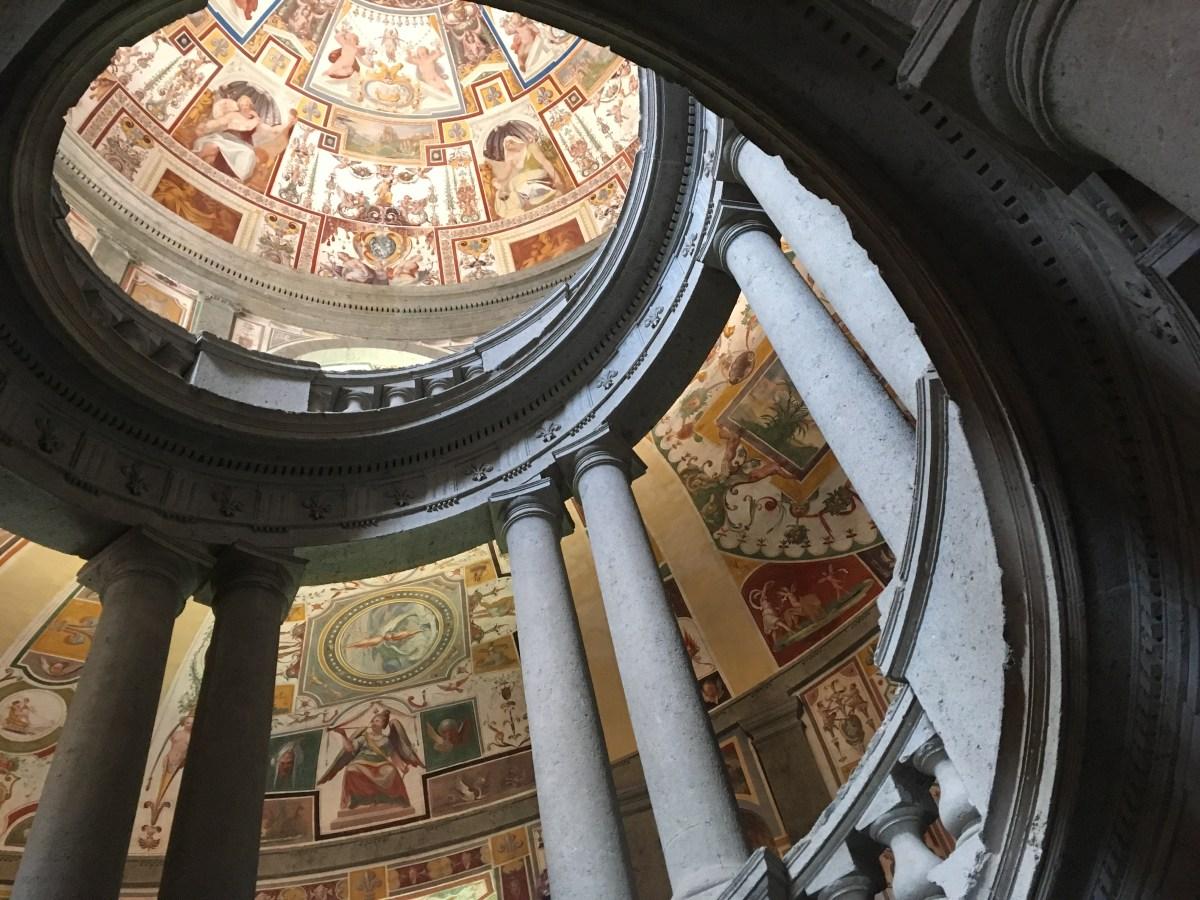 Scala Regia, Palazzo Farnese a Caprarola Viterbo, Villa farnese