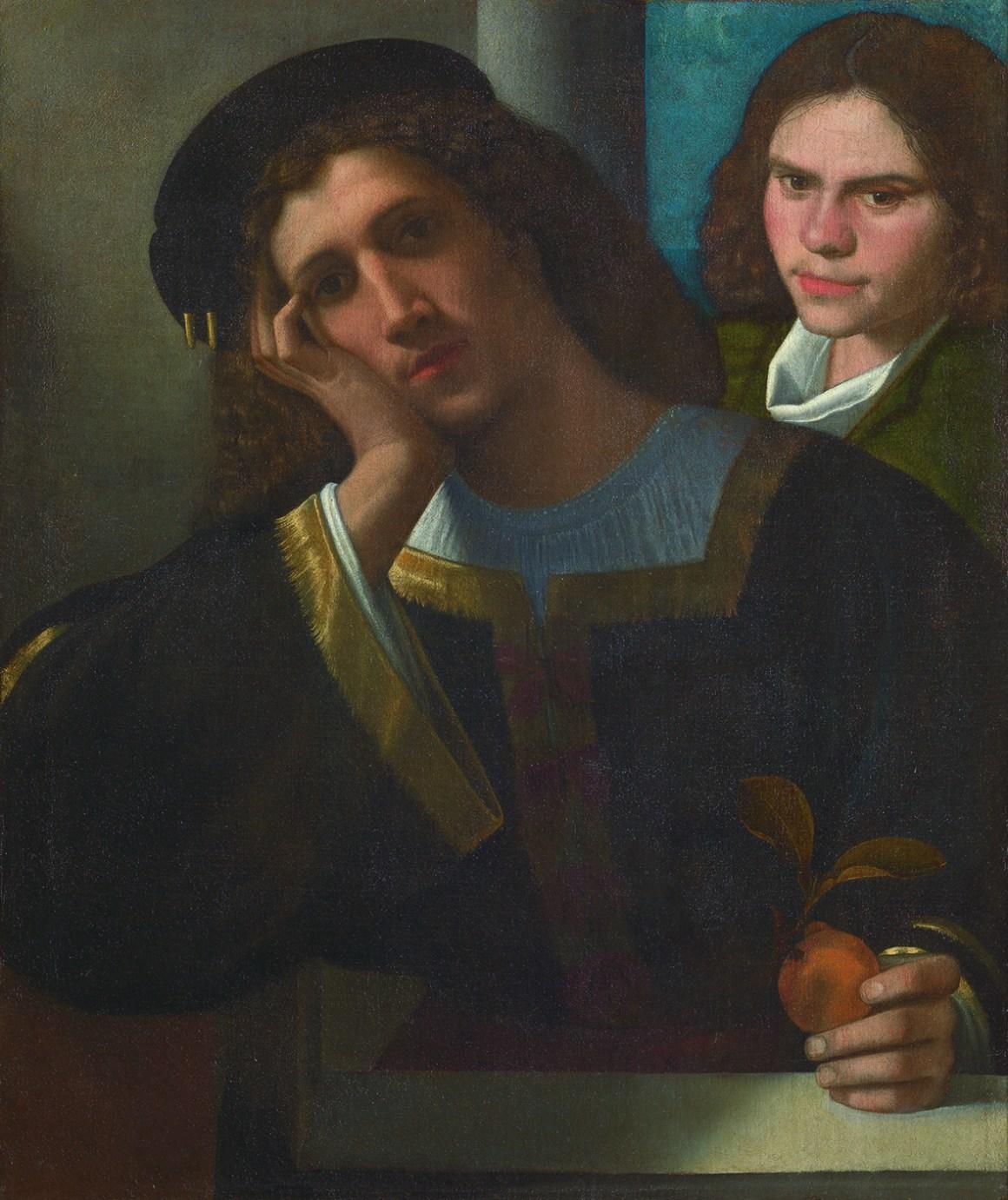 Giorgio da Castelfranco detto Giorgione (Castelfranco Veneto, 1477 c. – Venezia, 1510) Due amici 1502 c.