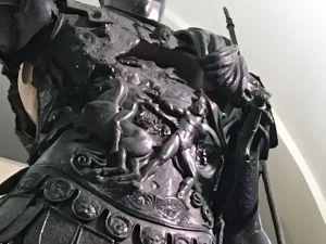 Dettaglio Statua bronzea di Germanico, Museo Archeologico di Amelia - Orizzonte Cultura