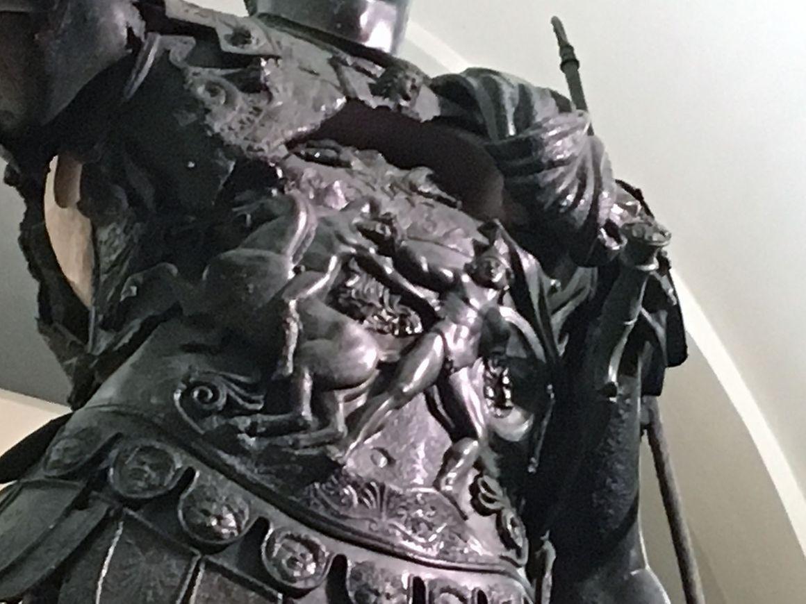 Dettaglio Statua Germanico Amelia