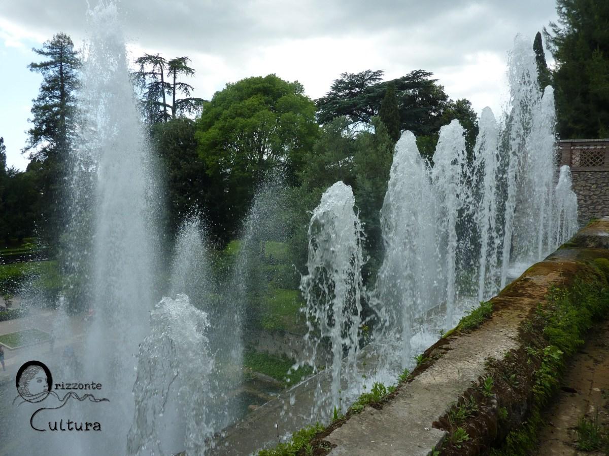 Veduta delle fontane, cosa vedere a Villa d'Este a Tivoli, ph. Orizzonte Cultura