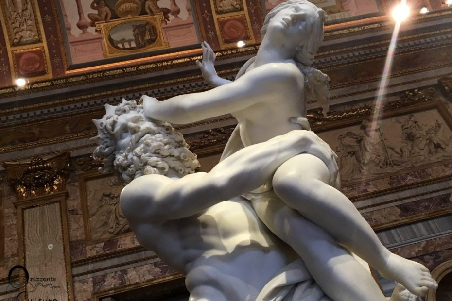 dettaglio Ratto di Proserpina Bernini