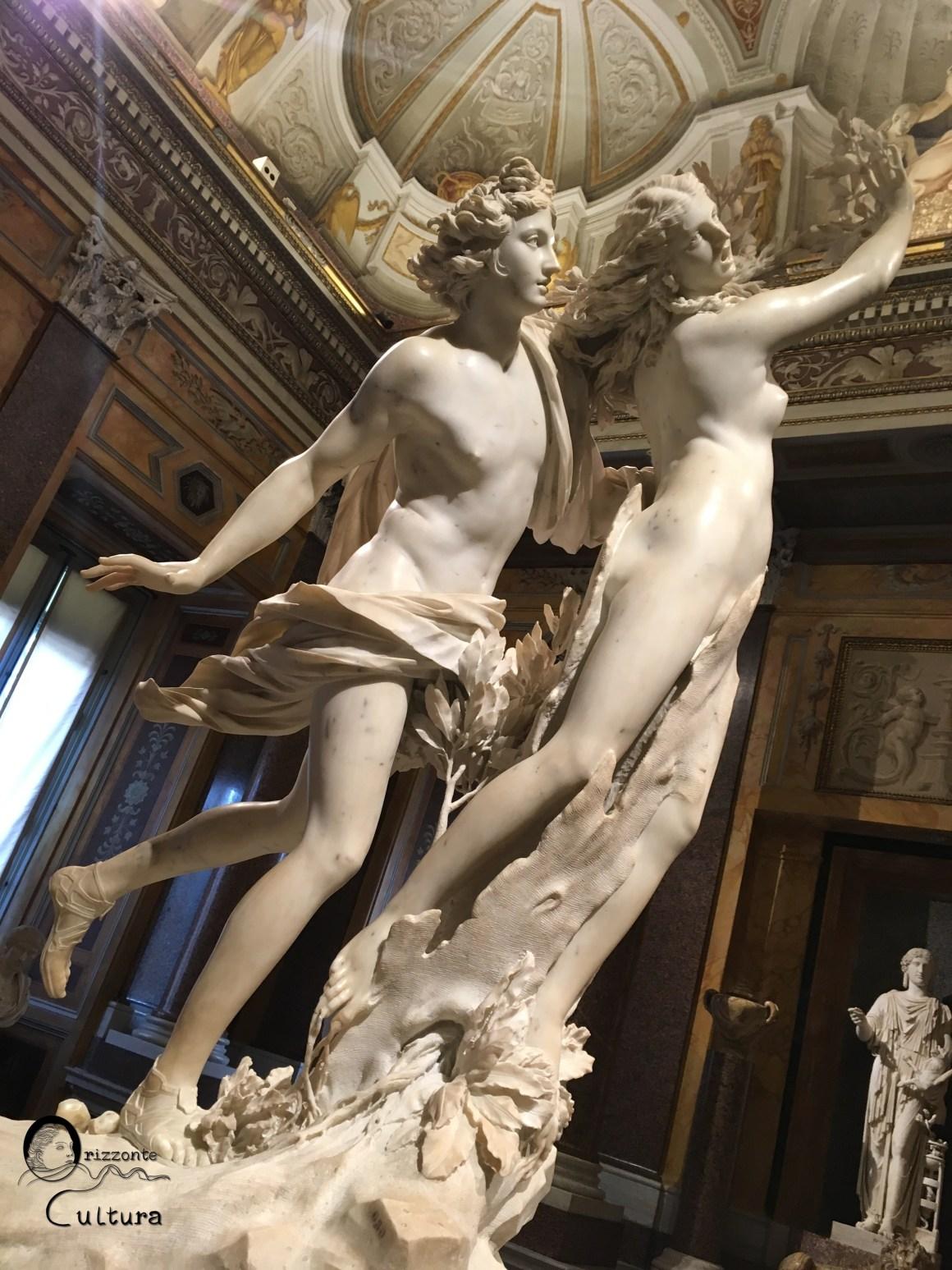 Gian Lorenzo Bernini, Apollo e Dafne - Galleria Borghese - Orizzonte Cultura
