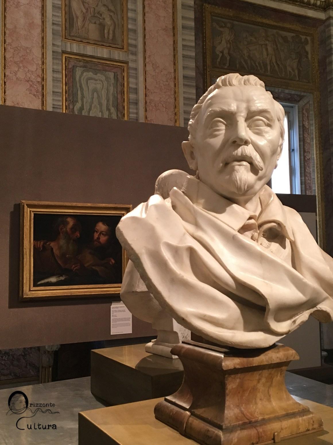 Gian Lorenzo Bernini, Santi Andrea e Tommaso Apostoli (in secondo piano) - Galleria Borghese - Orizzonte Cultura
